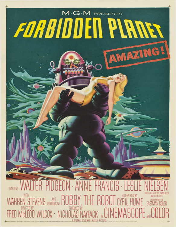 Forbiddenplanetposter - Forbidden Planet - 60 Years of a Science Fiction Classic