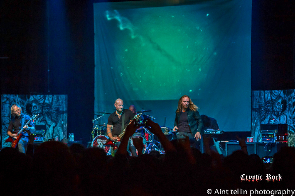 Dark Tranquillity live at Gramercy Theatre, NYC 1-4-2015