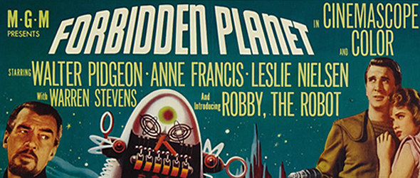 forbidden quad - Forbidden Planet - 60 Years of a Science Fiction Classic