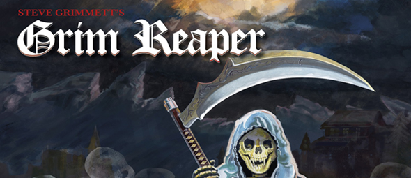 grim album slide - Steve Grimmett's Grim Reaper - Walking In The Shadows (Album Review)