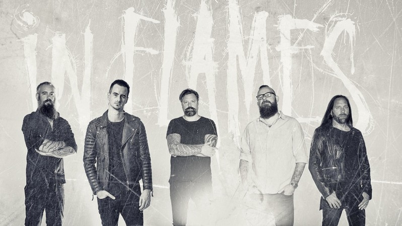 in flames promo