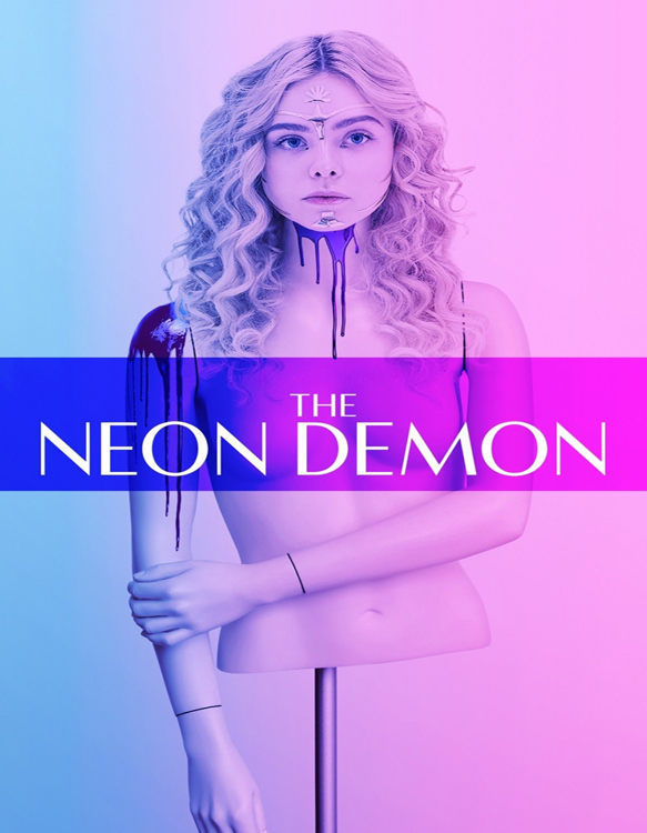 neon demon poster - CrypticRock Presents: Top 10 Horror Films of 2016