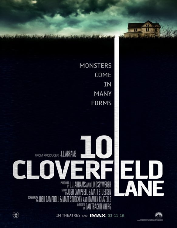 10 cloverfield - CrypticRock Presents: Top 10 Horror Films of 2016