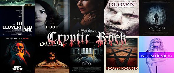 2016 best of horror - CrypticRock Presents: Top 10 Horror Films of 2016