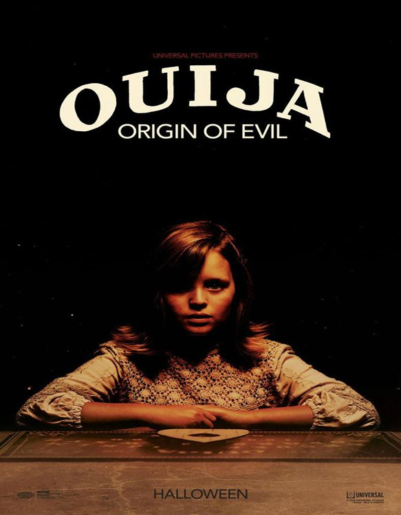 Ouija Origin Evil poster - CrypticRock Presents: Top 10 Horror Films of 2016