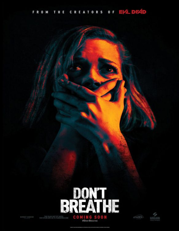 dont breathe poster - CrypticRock Presents: Top 10 Horror Films of 2016