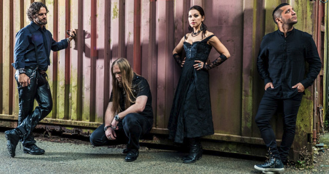 sirenia promo 2016 - Sirenia - Dim Days of Dolor (Album Review)