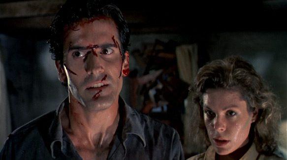 Still from The Evil Dead (1981)