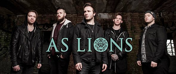 as lions slide - Interview - Austin Dickinson of As Lions