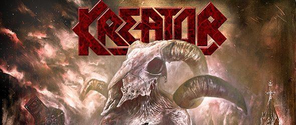kreator album cover - Kreator - Gods of Violence (Album Review)