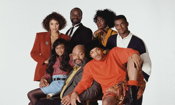 The Fresh Prince of Bel-Air promotional cast photo