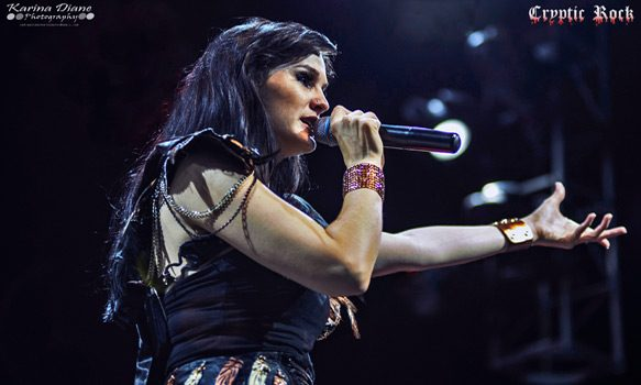 Xandria live at The Grove in Anaheim, CA 9-30-2014