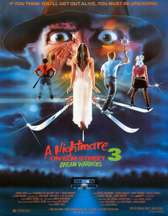 dream poster 2 - A Nightmare On Elm Street 3: Dream Warriors - Stalking Dreams 30 Years Later