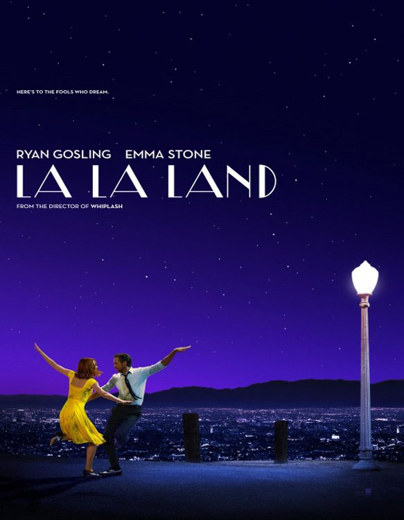 la la land poster - La La Land (Movie Review)