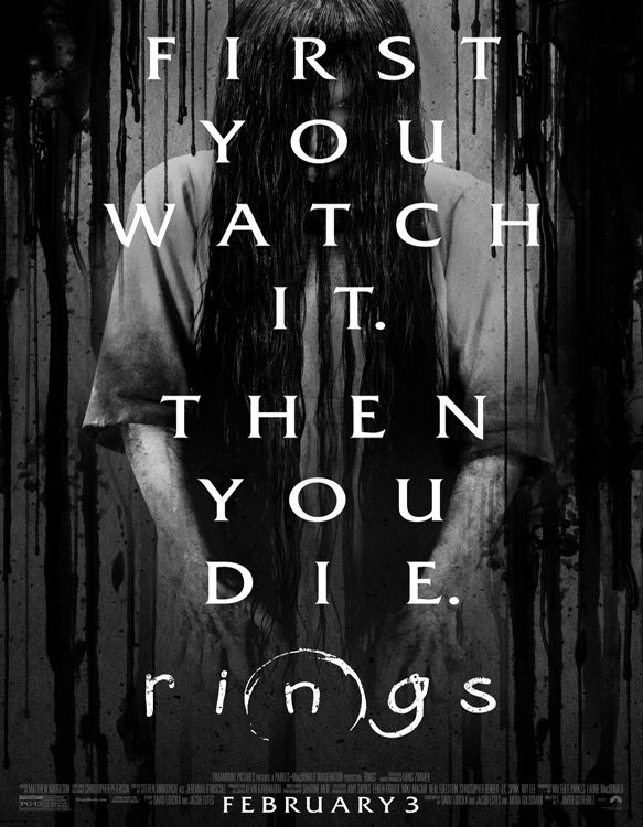 rings poster - Rings (Movie Review)