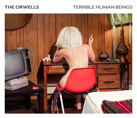 the orwells albm cover - The Orwells - Terrible Human Beings (Album Review)