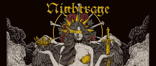 The Venomous Cover slide - Nightrage - The Venomous (Album Review)