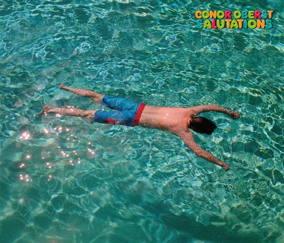 conor album cover - Conor Oberst - Salutations (Album Review)