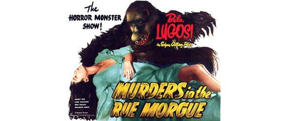 24x36 Vintage Horror Movie Poster Murders Rue Morgue
