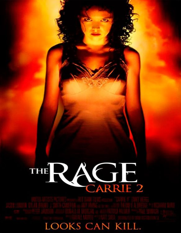 rage carrie two poster - This Week In Horror Movie History - The Rage: Carrie 2 (1999)