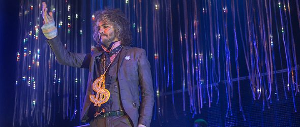 the flaming lips 2017 live slide 2 - The Flaming Lips Bring Musical Odyssey To The Space at Westbury, NY 3-11-17