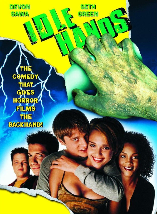 idle hands poster - This Week In Horror Movie History - Idle Hands (1999)