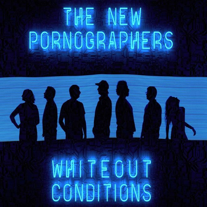 new pornographers album cover - The New Pornographers - Whiteout Conditions (Album Review)