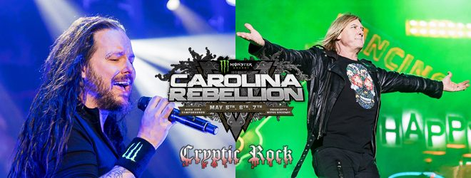 Carolina Rebellion day 2 2017 slide  - Carolina Rebellion Day 2 Delivers Diversity Concord, NC 5-6-17