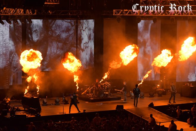 DSC 0141 CR copy - Avenged Sevenfold Fire Up Hershey, PA 5-9-17 w/ Volbeat & Motionless in White