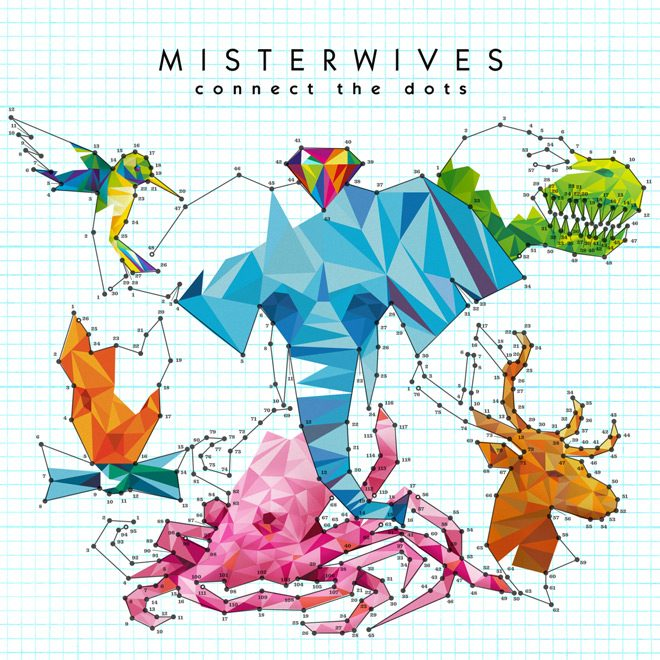 Misterwives Connect the Dots 2017 2480x2480 - CrypticRock Presents: The Best Albums Of 2017