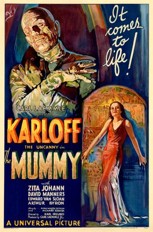 The Mummy 1932 film poster - Interview - Bobby Whitlock & CoCo Carmel