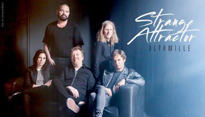 alpha promo - Alphaville - Strange Attractor (Album Review)