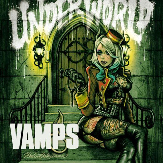 vamps album cover - Vamps - Underworld (Album Review)