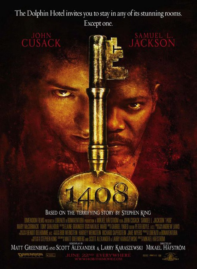 1408 poster - 1408 - Inspiring Nightmares 10 Years Later