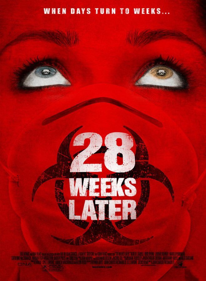 28 weeks later poster - 28 Weeks Later - Still Raging After 10 Years