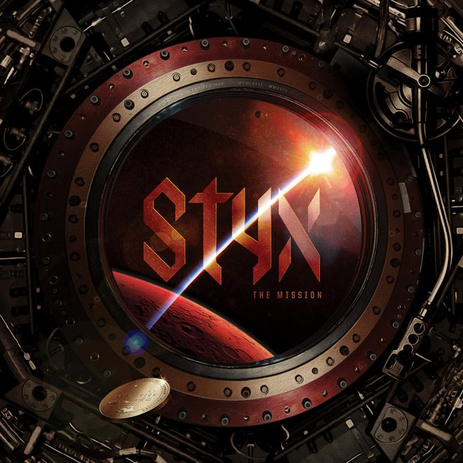 Styx The Mission album artwork - CrypticRock Presents: The Best Albums Of 2017