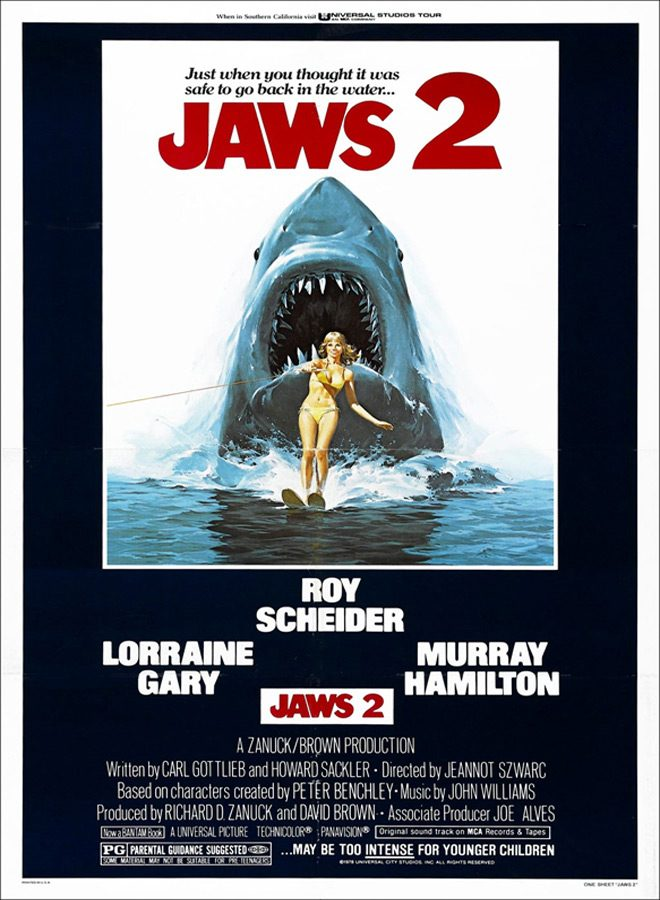 jaws 2 poster - This Week in Horror Movie History - Jaws 2 (1978)