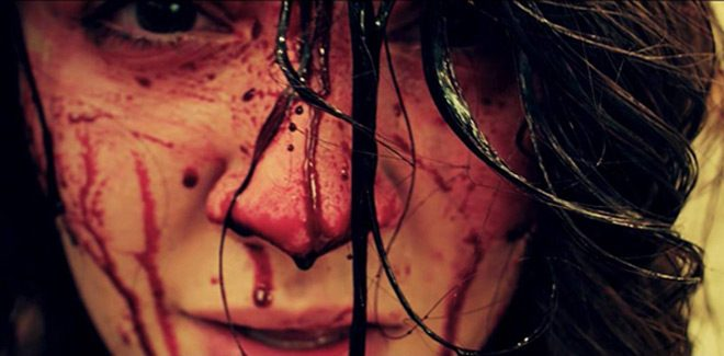 volumes of blood bloody face - Volumes of Blood (Movie Review)