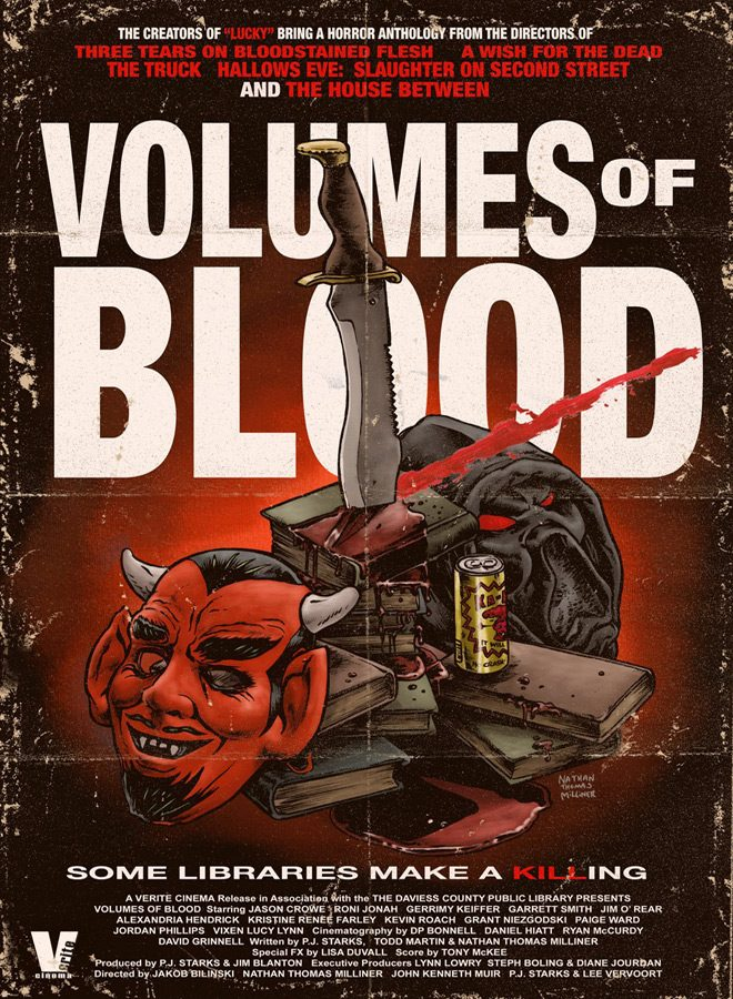 volumes of blood poster - Volumes of Blood (Movie Review)