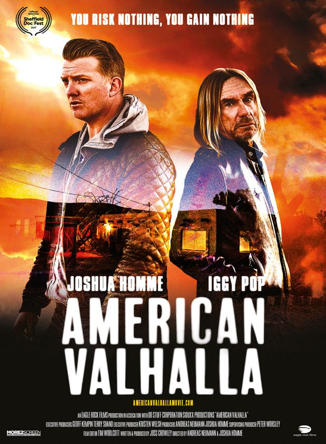 american poster - American Valhalla (Movie Review)