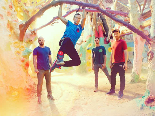 coldplay promo 2 - Coldplay - Kaleidoscope (EP Review)