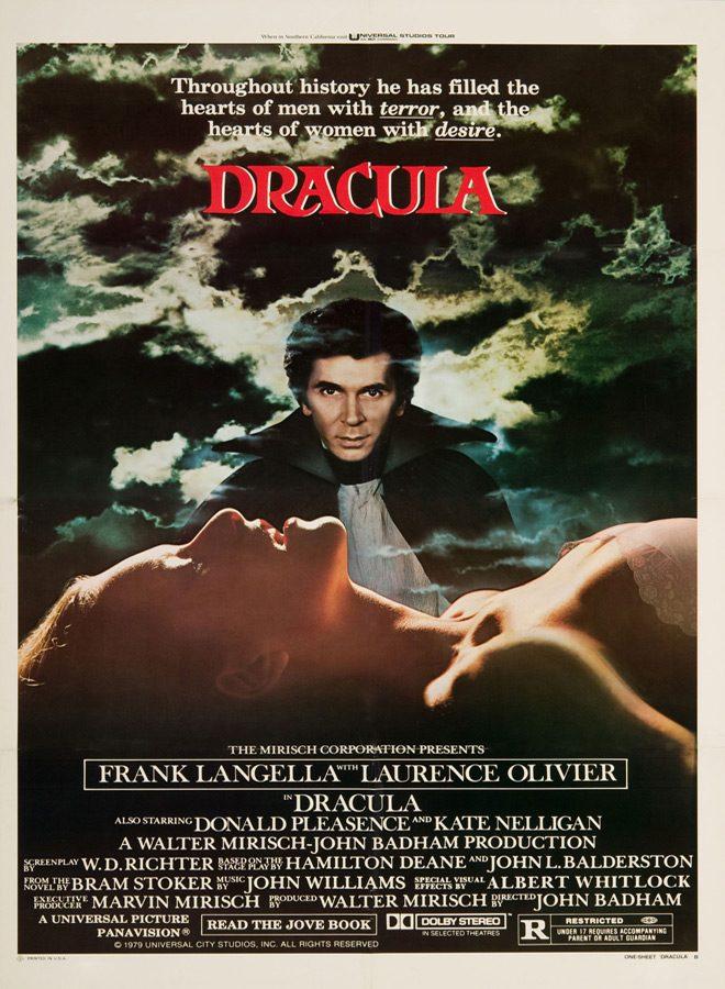 dracula movie poster 1979 - This Week in Horror Movie History - Dracula (1979)