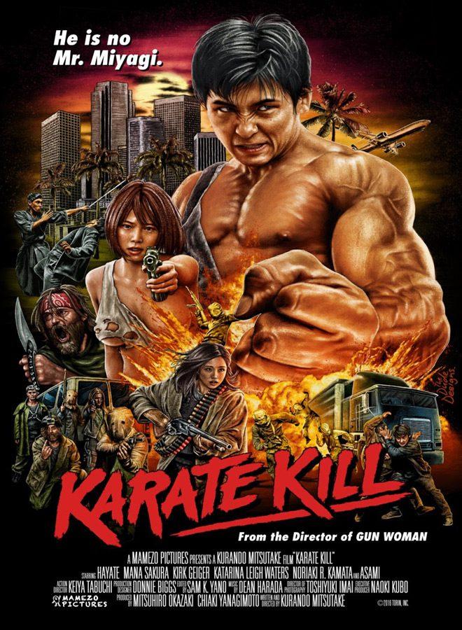 karate poster - Karate Kill (Movie Review)