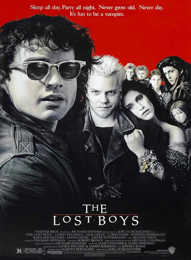 lost boys poster - The Lost Boys Sinks Its Fangs Into 30 Years