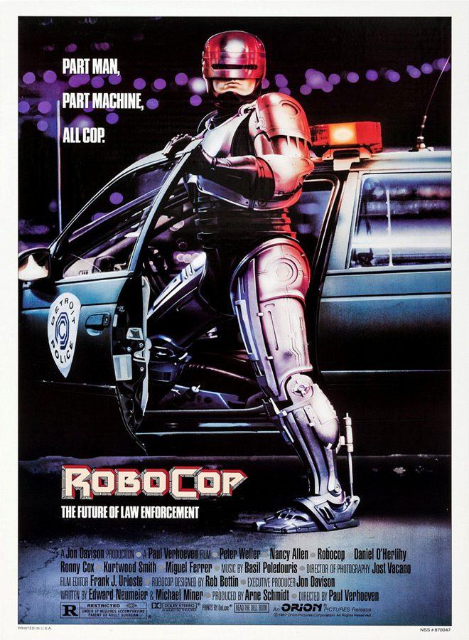 robo poster - RoboCop - A Cyborg Icon 30 Years Later