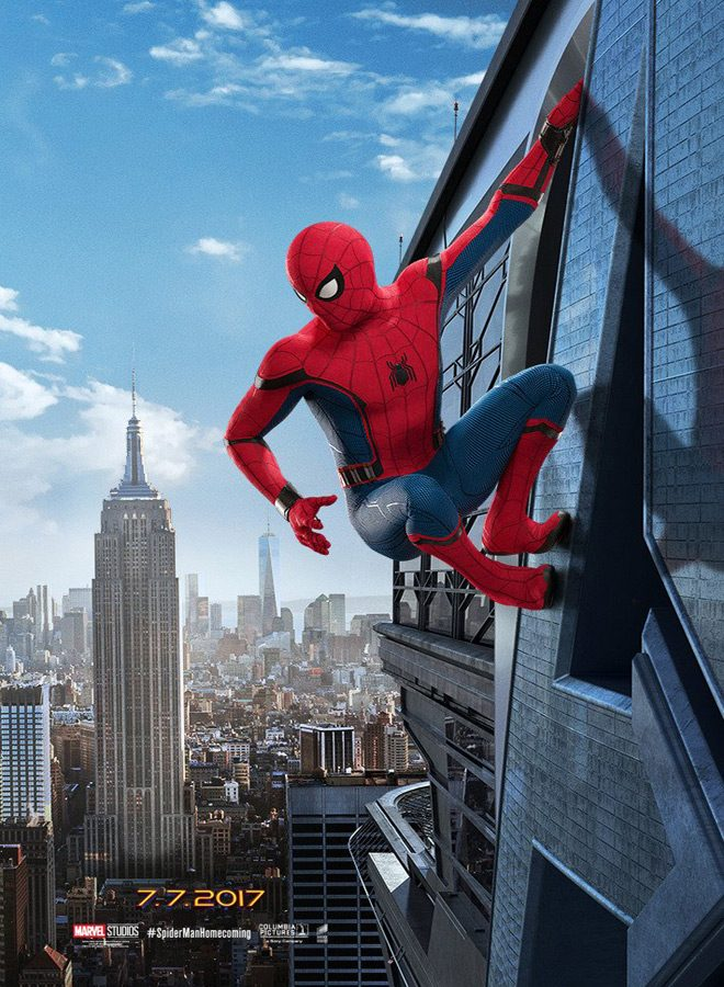spider poster - Spider-Man: Homecoming (Movie Review)