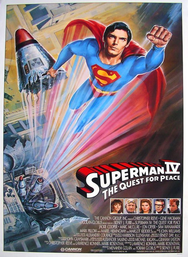 supe poster - Superman IV: The Quest for Peace 30 Years Later