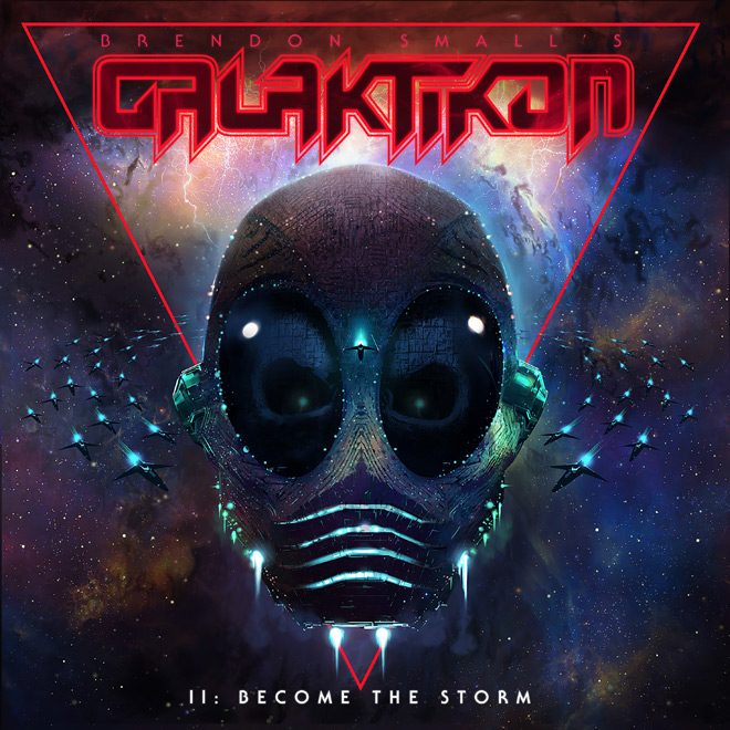 Galaktikon2 3000X3000 - Brendon Small - Galaktikon II: Become The Storm (Album Review)