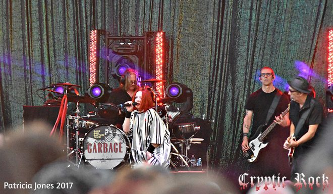 Garbage NC for site 1 - Blondie & Garbage Rock Raleigh, NC 8-5-17 w/ Deap Vally