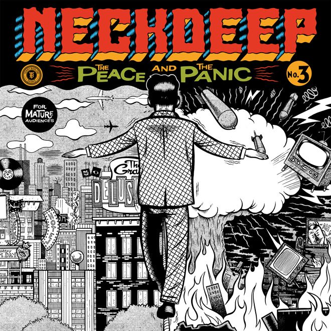 ND Cover 5x5 500dpi - Neck Deep - The Peace and The Panic (Album Review)